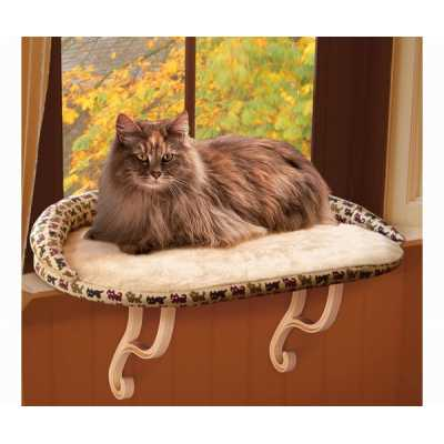 K&H Deluxe Kitty Sill Window Perch KH3097 Image