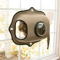 K&H Pet Products EZ Mount Window Bubble Cat Pod