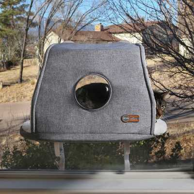 K&H Universal Mount Kitty Sill with Hood Image