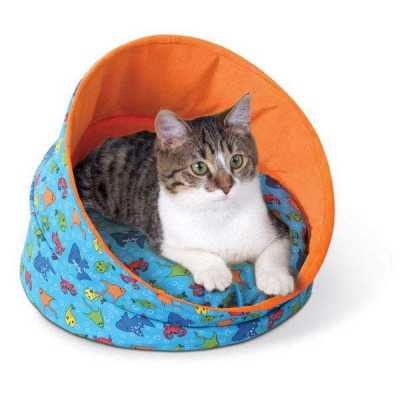 Kitty Cave Fish Cat Bed KH3086