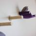 Cat Hammock - Wall Mounted Cat Bed - Purple