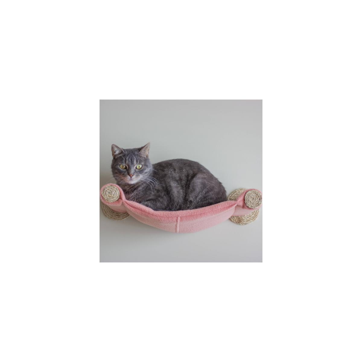 Cat Hammock Wall Mounted Cat Bed Salmon Catsplay