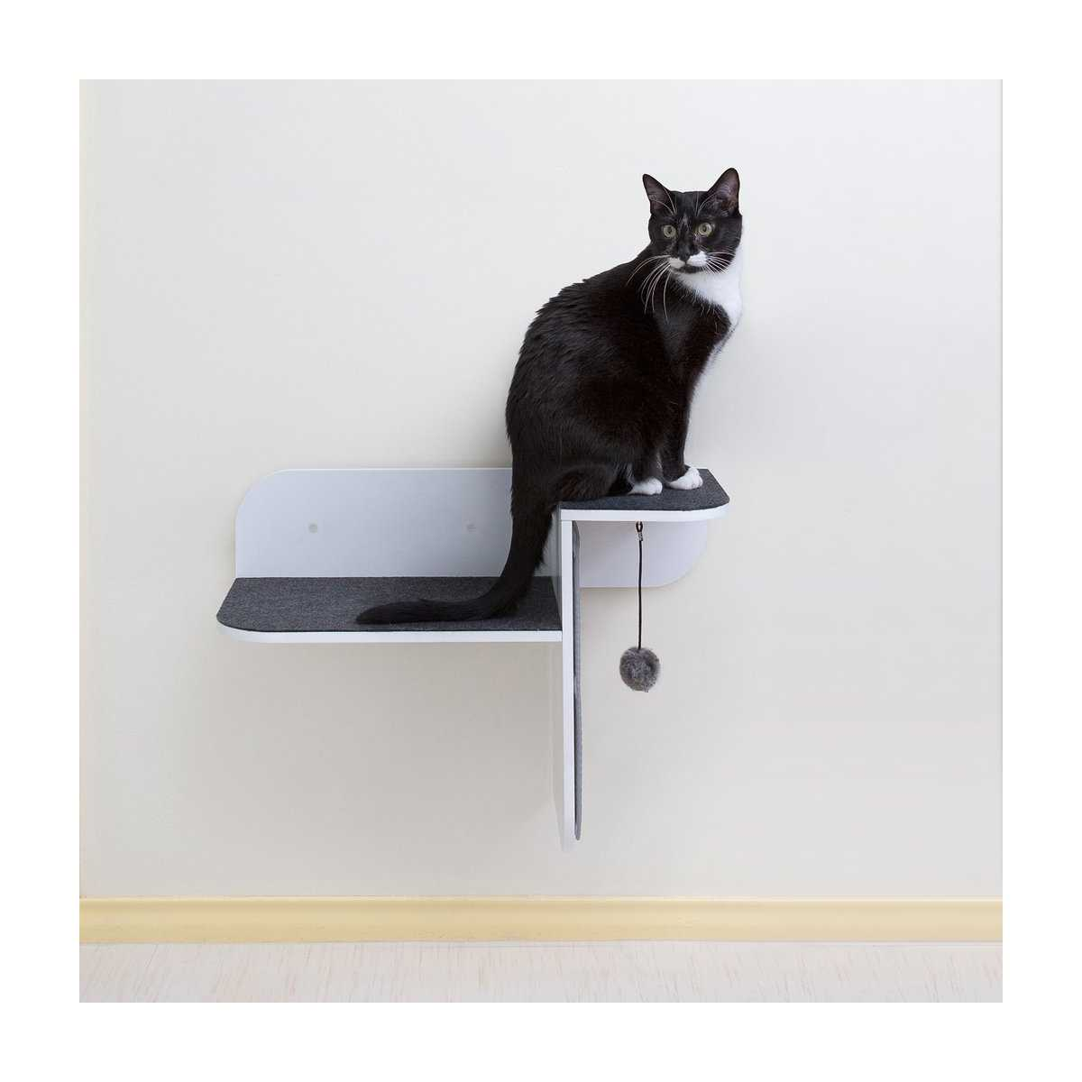 Step Perch Wall Mounted Cat Perch Scratcher Amp Lounge