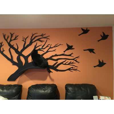 Wall Mounted Cat Tree Artisan Perch Image
