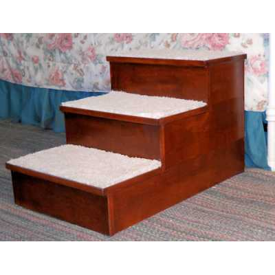 Hardwood Pet Steps 1, 2 or 3 Step Height