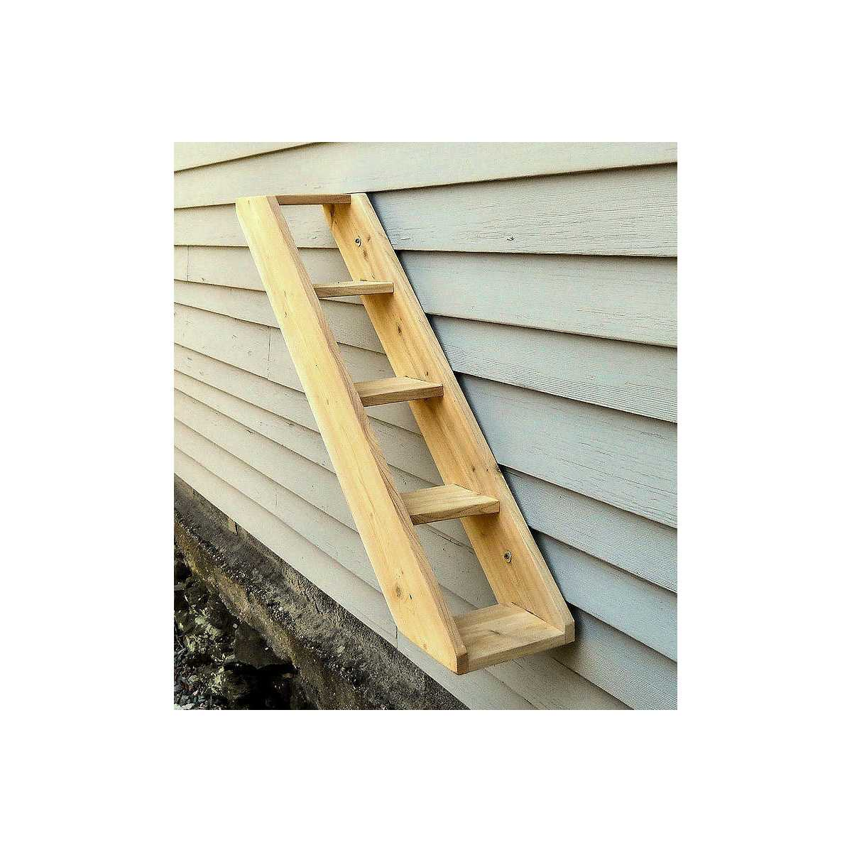 Outdoor Cedar Cat Wall System Stair Ladder Catsplay