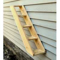 Outdoor Cedar Cat Wall System: Stair / Ladder