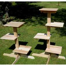 Outdoor (or Indoor) Cedar Cat Tree