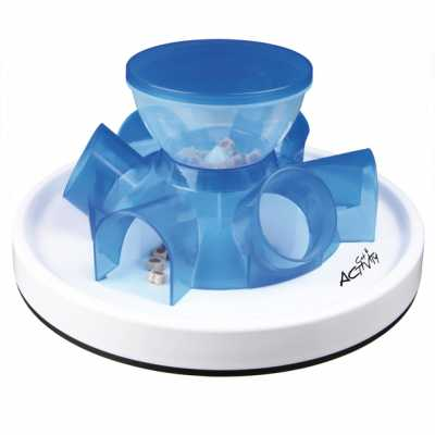 Tunnel Feeder Toy for Cats Image