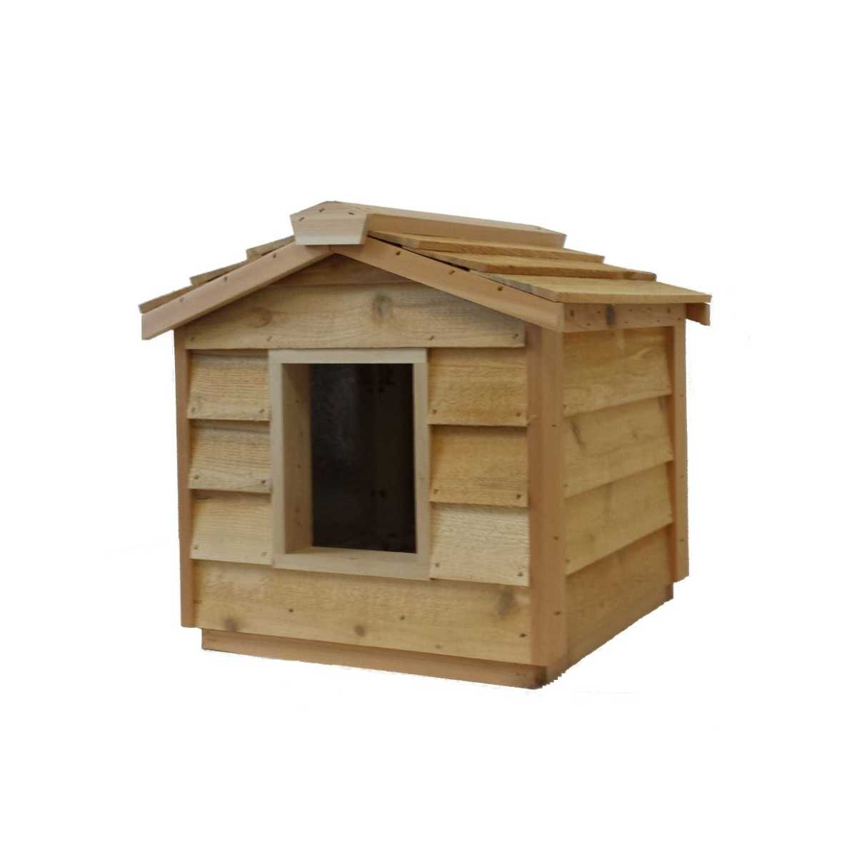 Small Cedar Insulated Cat Or Small Dog House Catsplay