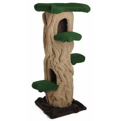 """Kitty Hollow Cat Tree - 63"""""""