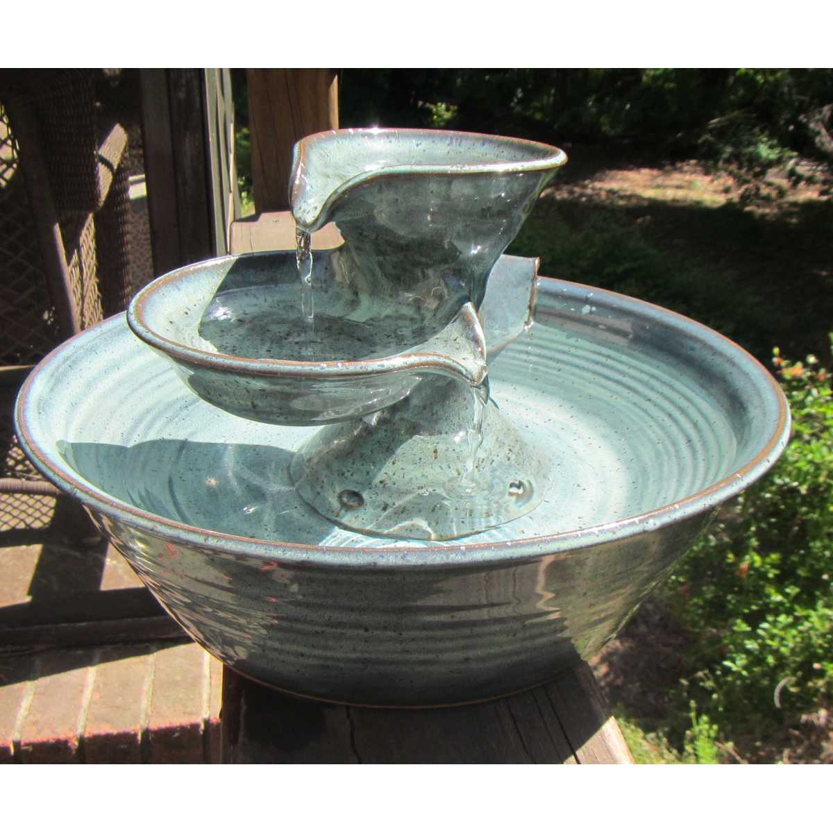 Double Bowl Cat Fountain Catsplay Superstore
