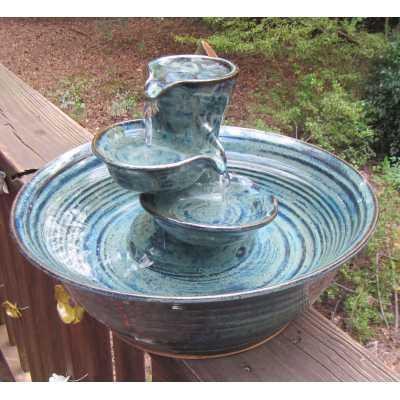 Triple Bowl Cat Fountain
