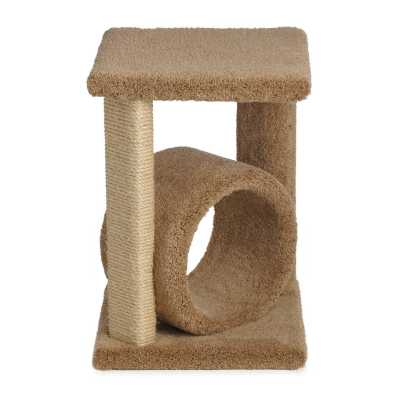 24 Inch Corner Cat Perch with Tube