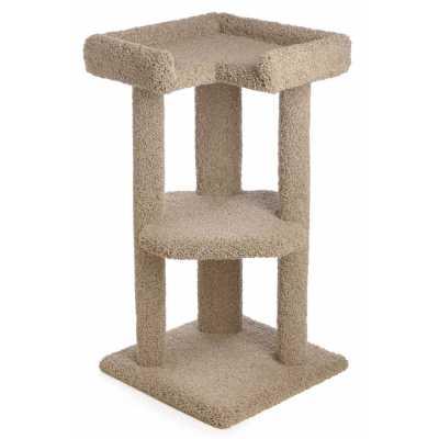 39 Inch Tri-Level Corner Cat Tree Image