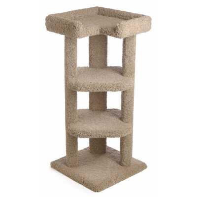 45 Inch Quad-Level Corner Cat Tree