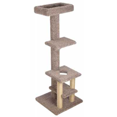 Deluxe Tiered Cat Tree with Customizable Top Lounge