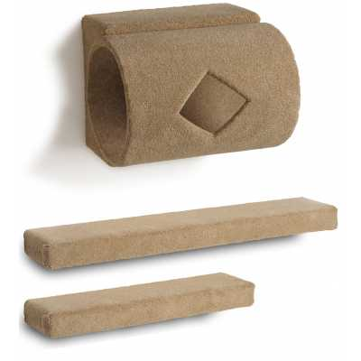 Tube + 2 Ramps Cat Wall Climbing Package Image