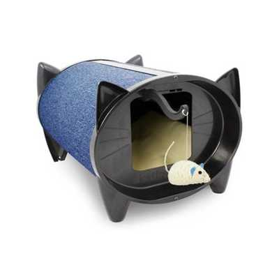 SkratchKabin Indoor Cat Scratching Bed - Blueberry