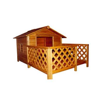 The Mansion Wooden Pet House: MPL002