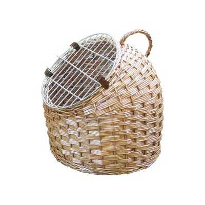Woven Pet Caddy Carrier and Bed