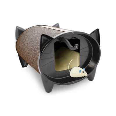 SkratchKabin Indoor Cat Scratching Bed - Cocoa Bean